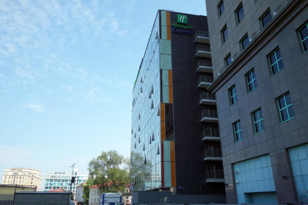 Обзор: Holiday Inn Express Paveletskaya, Москва