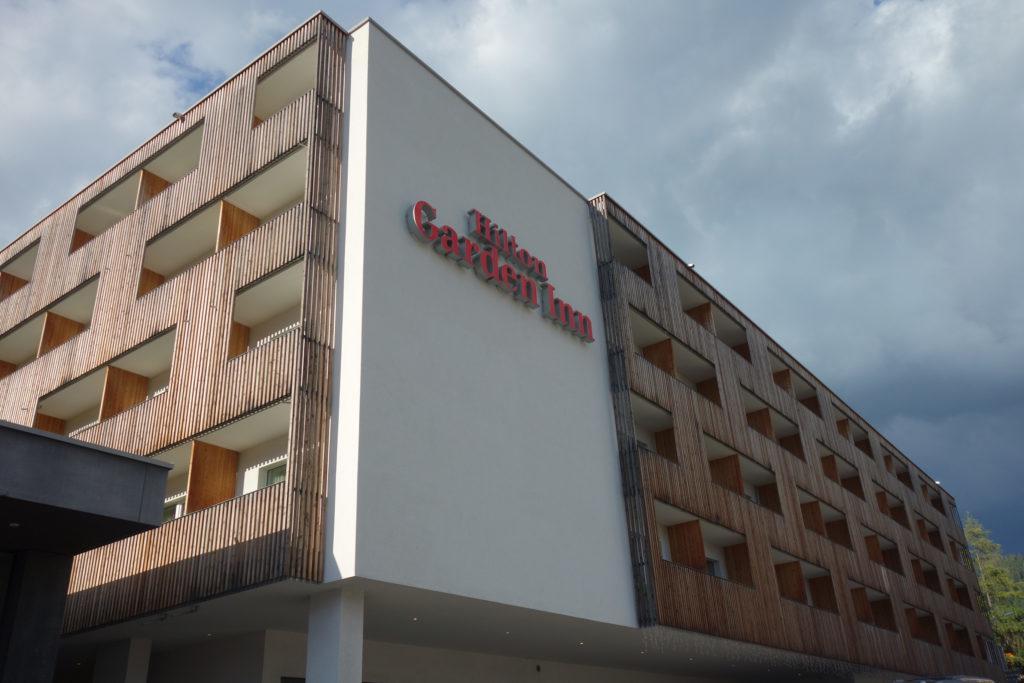Обзор: Hilton Garden Inn, Давос