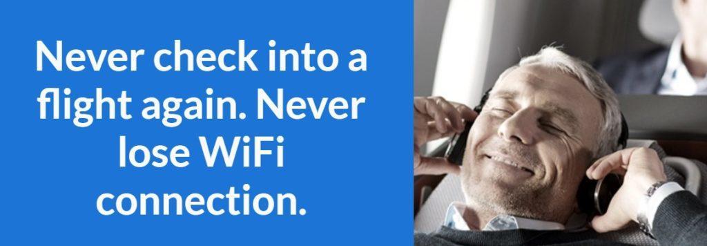 Безлимитный Интернет на борту самолета всего за 10€ в месяц!