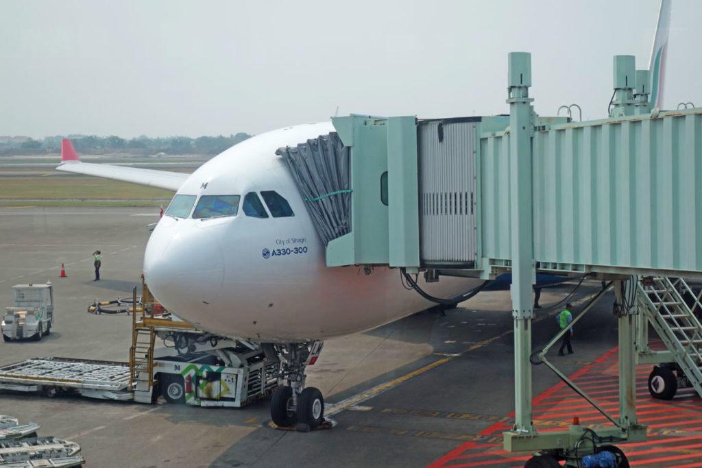 Обзор: SriLankan Airlines, бизнес-класс (А330-300), Джакарта – Коломбо