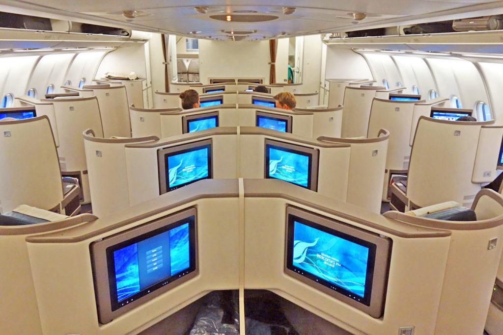 Обзор: SriLankan Airlines, бизнес-класс (А330-300), Коломбо — Дубай