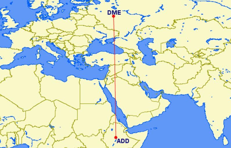 Ой: Ethiopian полетит в Москву на Boeing 737