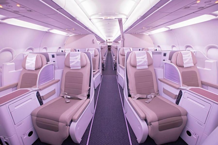 Saudia полетит в Европу на А320 с горизонтальными кроватями!
