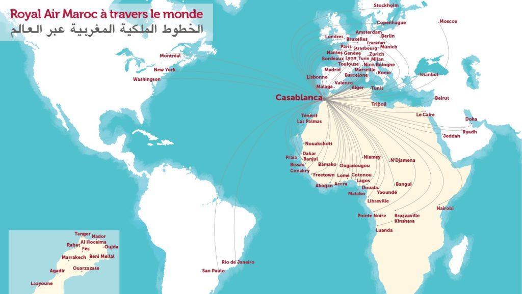 Royal Air Maroc вступит в oneworld в марте 2020 года