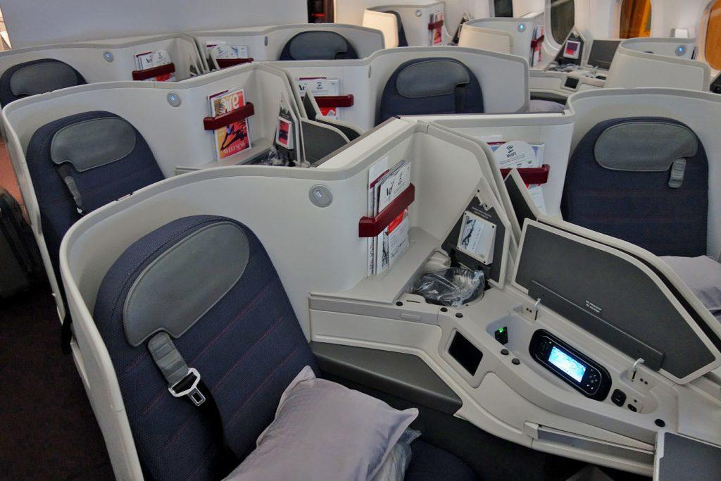 Бизнес-класс Aeromexico (Boeing 787-9) в 5 фотографиях