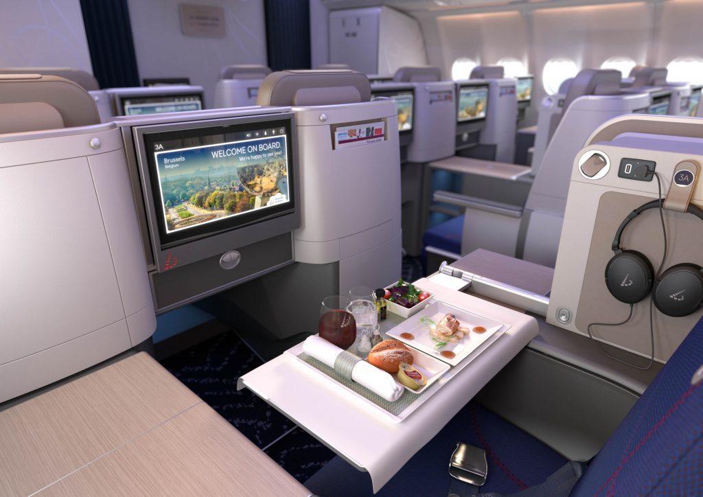 Новый бизнес-класс и премиум-эконом Brussels Airlines
