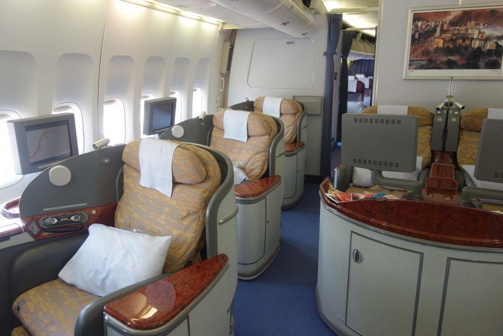 Рай авиагика! Первый класс China Airlines (Boeing 747-400) в 5 фотографиях
