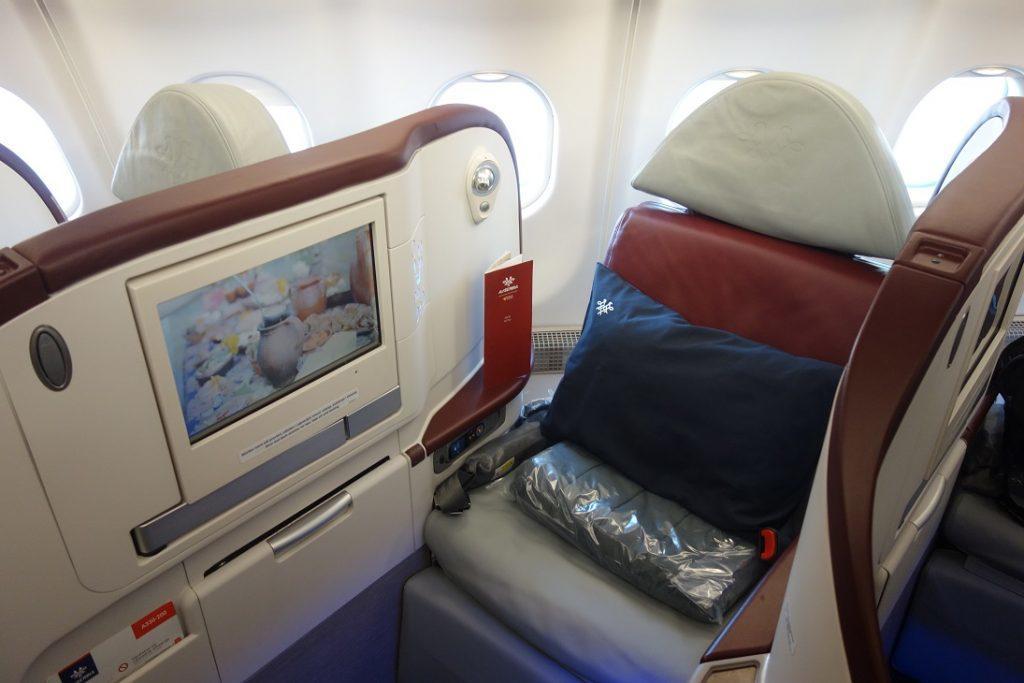 Бизнес-класс Air Serbia (A330) в 5 фотографиях