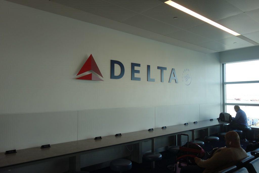 Образцовый порядок при полетах с Delta