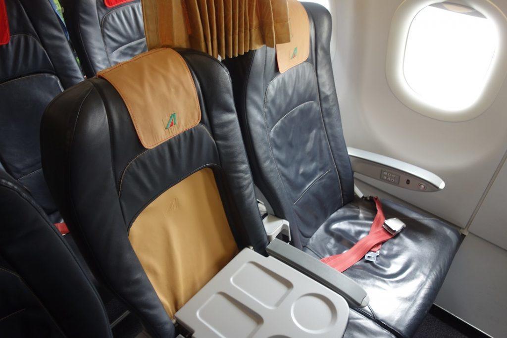 Позорище: внутриевропейский бизнес-класс Alitalia