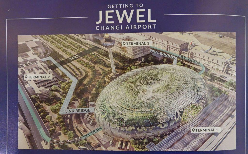 Впечатления от Jewel в аэропорту Сингапура