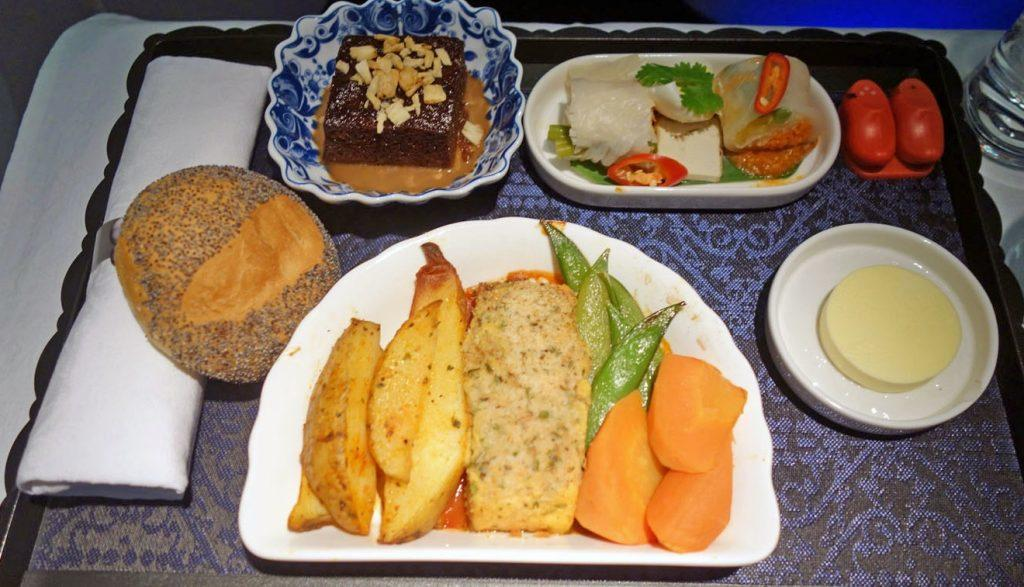 Ням-ням-ням: как же хорош корм в бизнес-классе KLM!