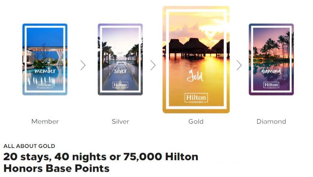 Статус-матч и фаст-трек Hilton Honors