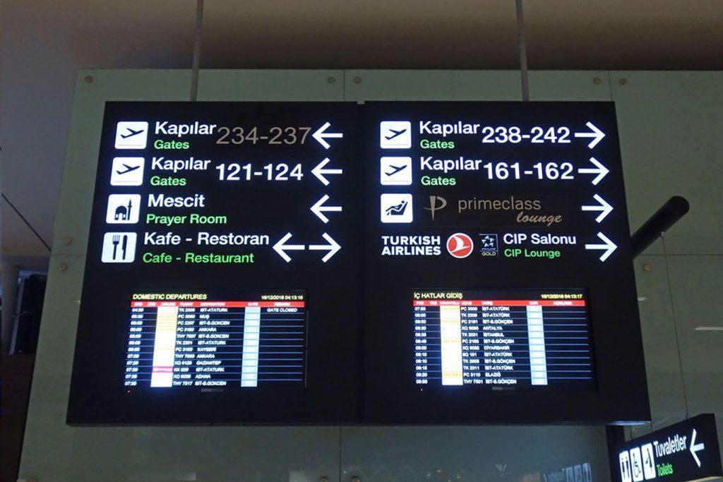 Обзор: Turkish Airlines Lounge, Измир