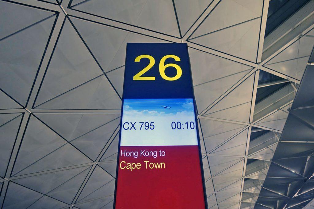 Обзор: Cathay Pacific, бизнес-класс (А350), Гонконг — Кейптаун