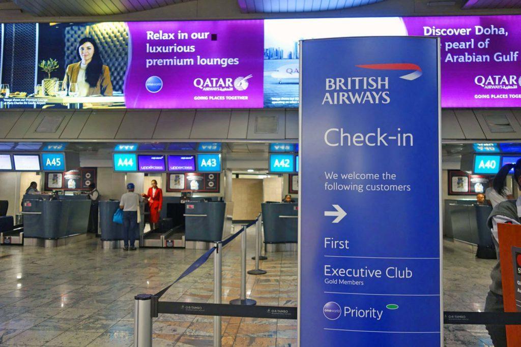 Обзор: British Airways First Class Lounge, Йоханнесбург