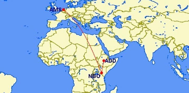БЕГОМ: фантастическая распродажа в бизнес-классе Kenya Airways из Амстердама в Аддис-Абебу