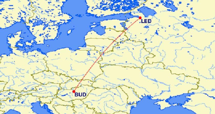 Wizzair будет чаще летать в Санкт-Петербург