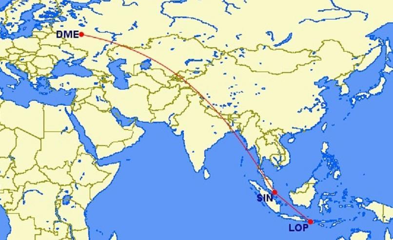 Отличные цены в бизнес-классе Singapore Airlines из Москвы на Ломбок