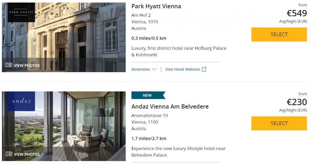Пора СРОЧНО бронировать отели в Вене на следующий сентябрь