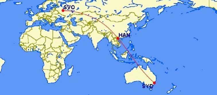 Отличные цены в бизнес-классе Vietnam Airlines из Москвы в Сидней