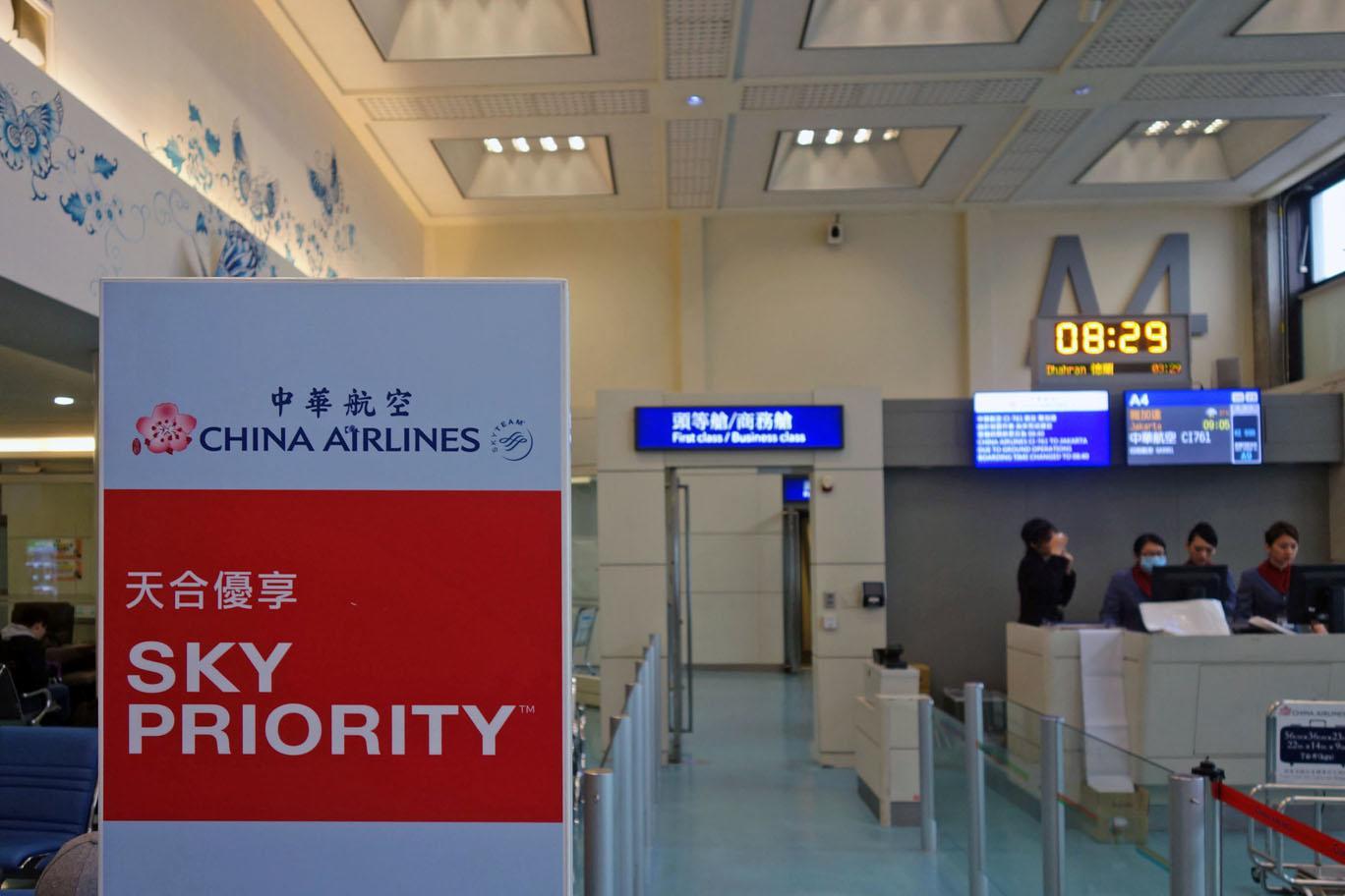Обзор: China Airlines, бизнес-класс (А350), Тайпей — Джакарта