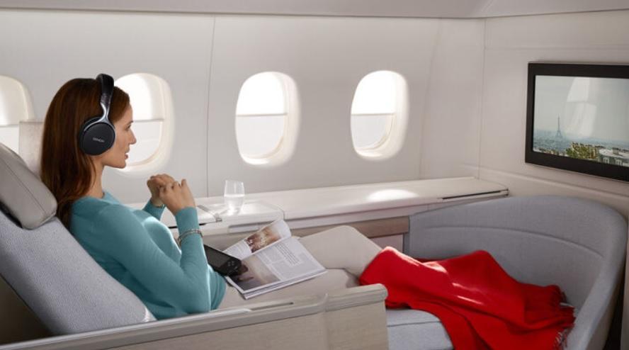 Air France ужесточает правила выписки премиальных билетов в первый класс