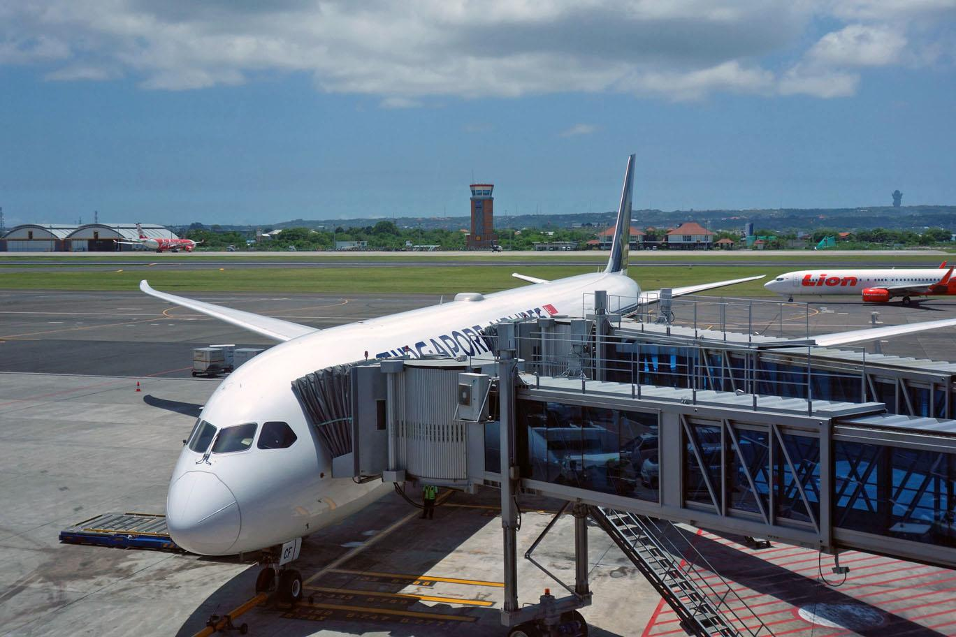 Обзор: Singapore Airlines, бизнес-класс (787-10), Бали — Сингапур