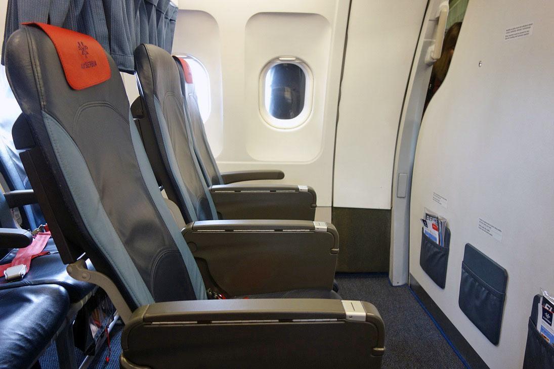 Обзор: Air Serbia, бизнес-класс (А319), Москва — Белград