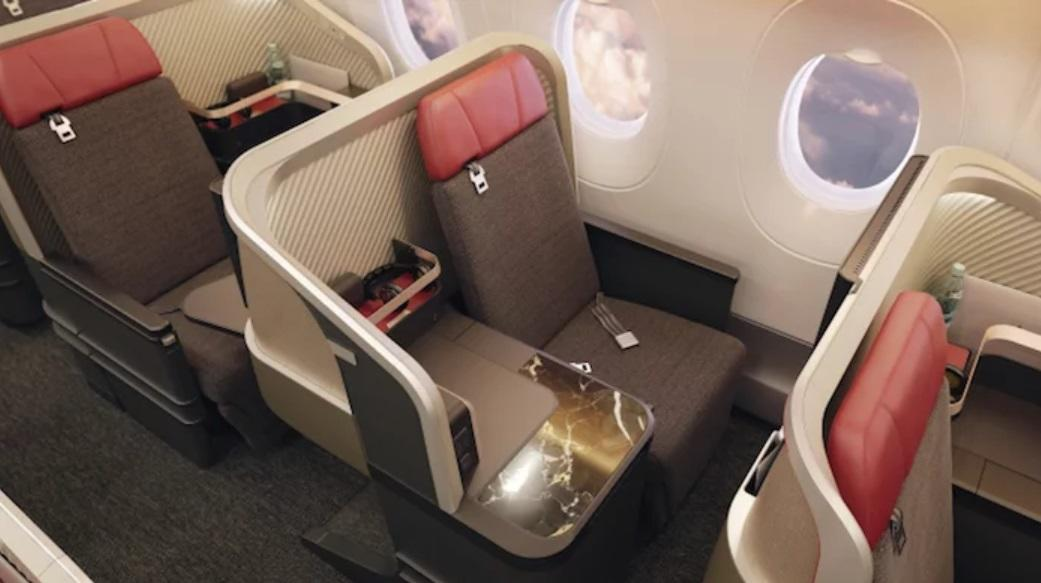 Прогресс установки нового бизнес-класса на самолетах LATAM