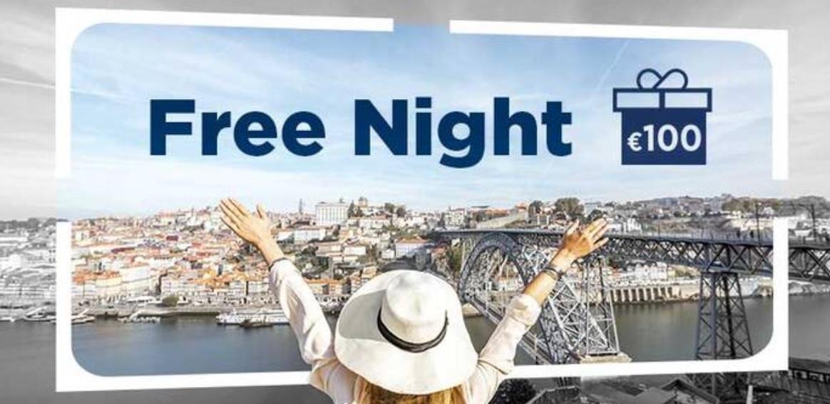 100€ в виде баллов после одного пребывания в NH Hotels