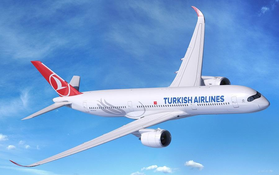 Первые направления A350 Turkish Airlines