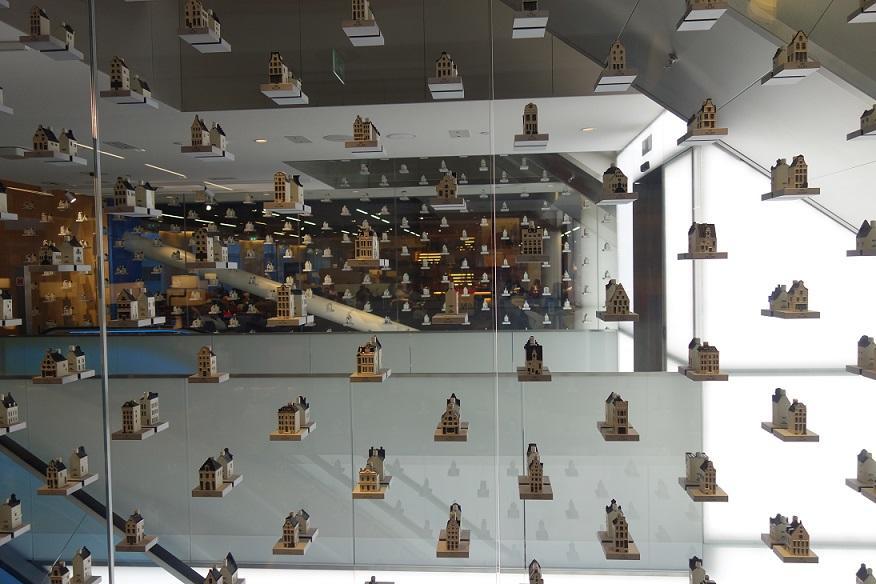KLM полностью открыла новый Crown Lounge в Амстердаме