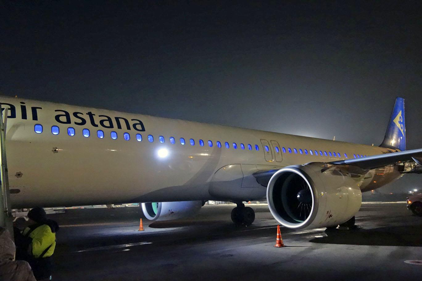 Обзор: Air Astana, бизнес-класс (A321LR), Алматы — Москва