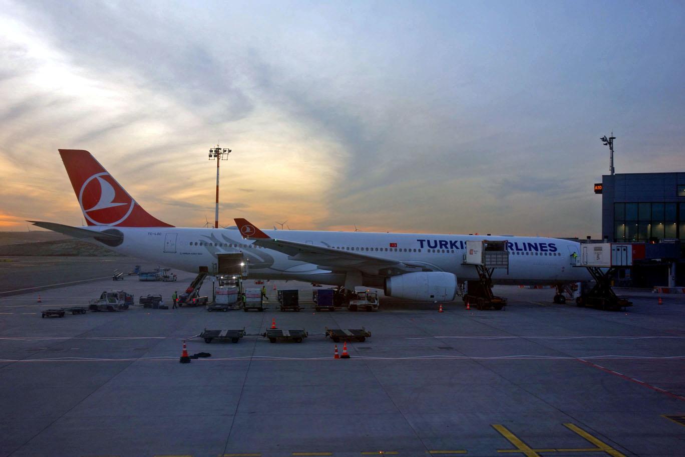 LOL: Turkish Airlines начала использовать А330, принадлежавшие WOW Air