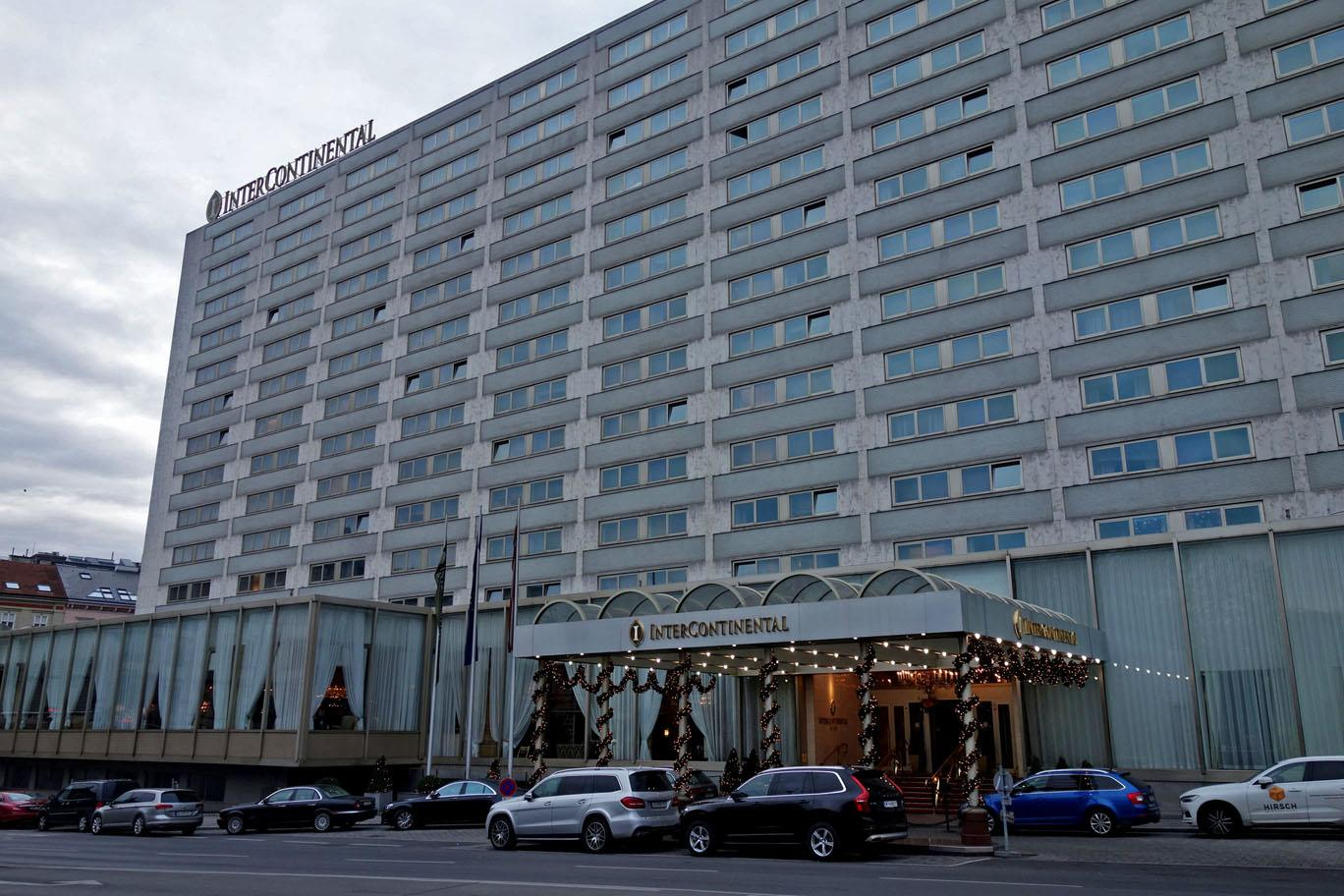 Обзор: InterContinental, Вена