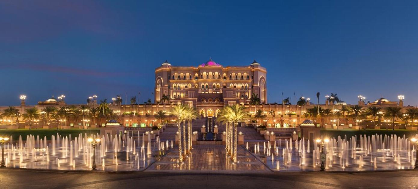 Emirates Palace в Абу-Даби войдёт в Mandarin Oriental