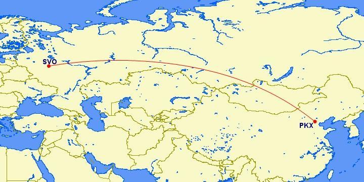 China Southern полетит в Москву из Пекина (PKX)