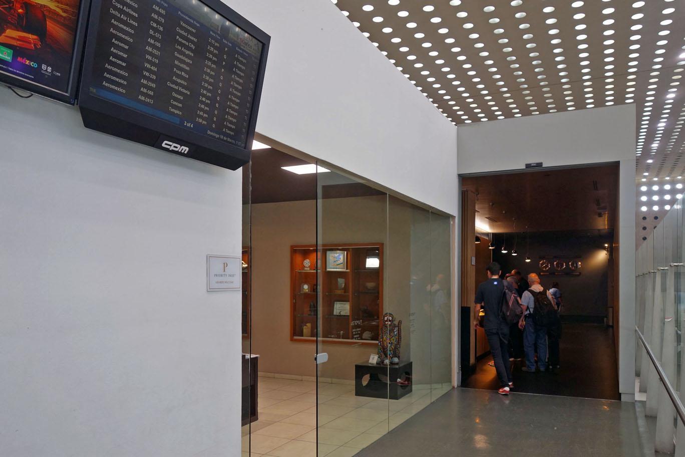 Обзор: Aeromar Lounge, Мехико