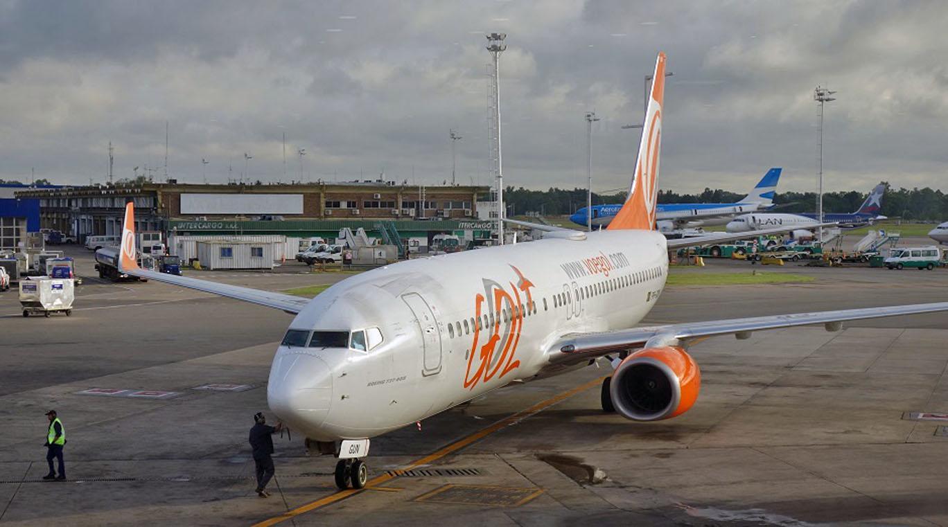 Обзор: GOL, премиум-эконом (737), Буэнос-Айрес — Сан-Паулу
