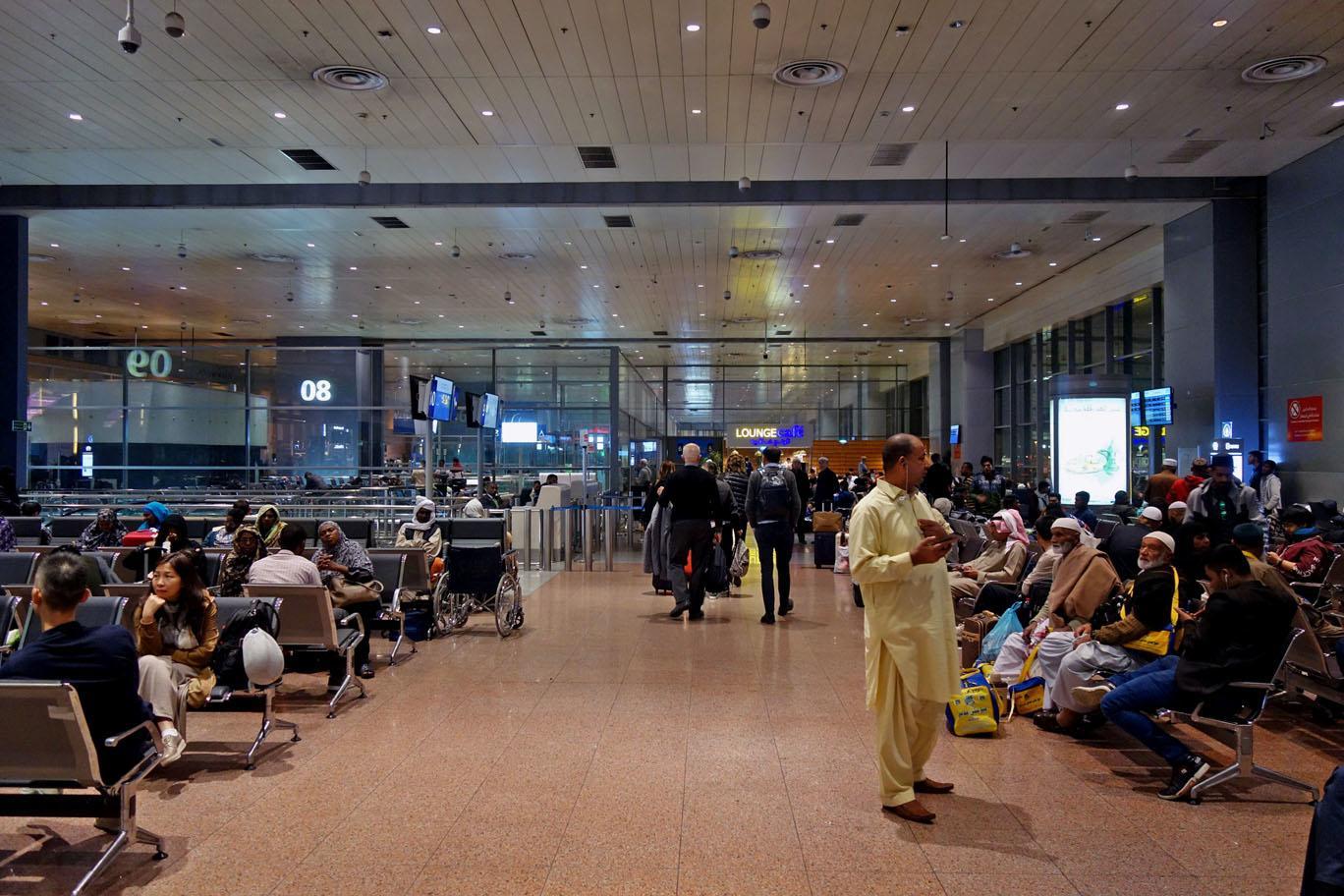 Обзор: Saudia Alfursan Lounge, Джидда