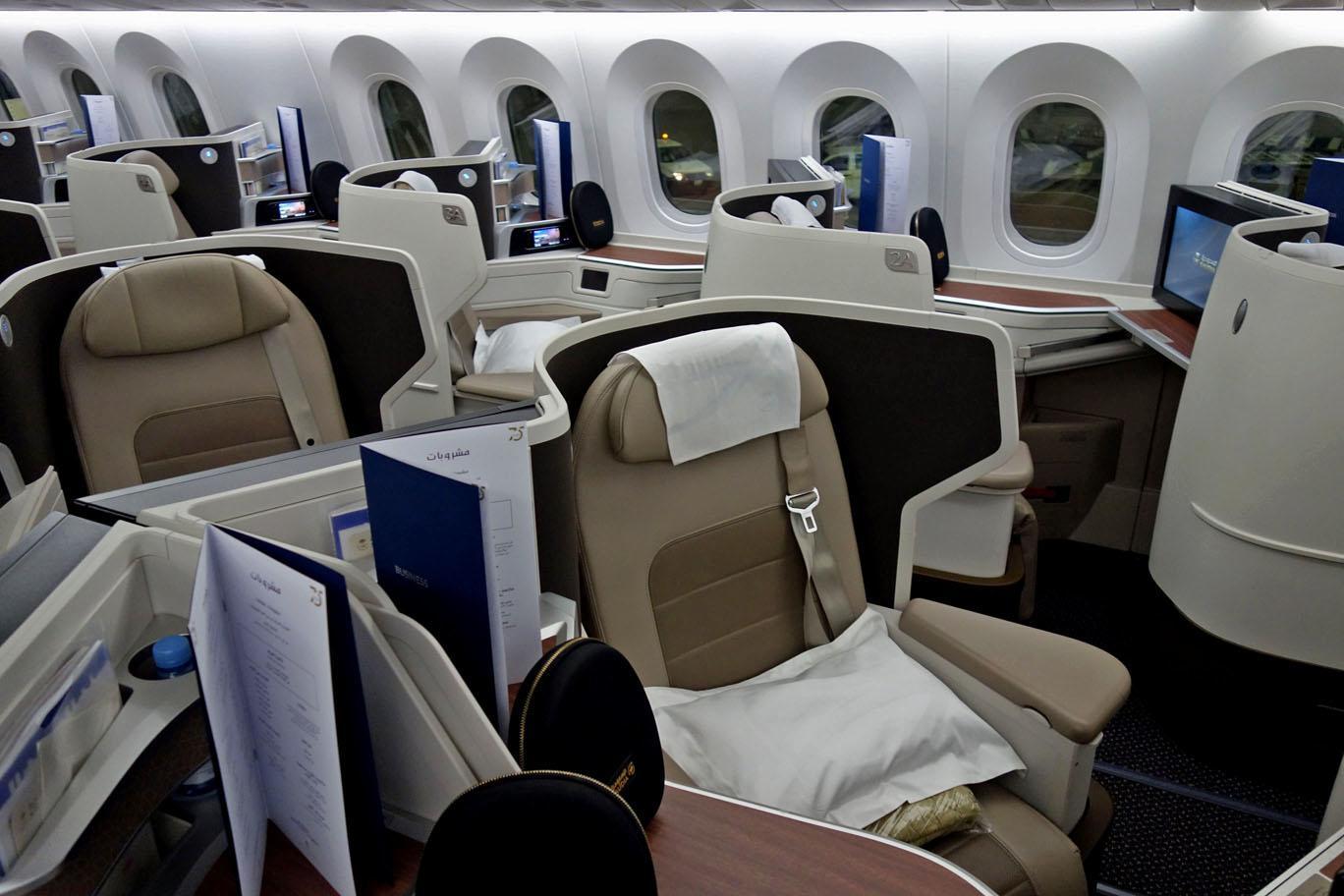 Обзор: Saudia, бизнес-класс (787-10), Джидда – Куала-Лумпур