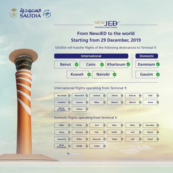 Пересадка в новом терминале аэропорта Джидды