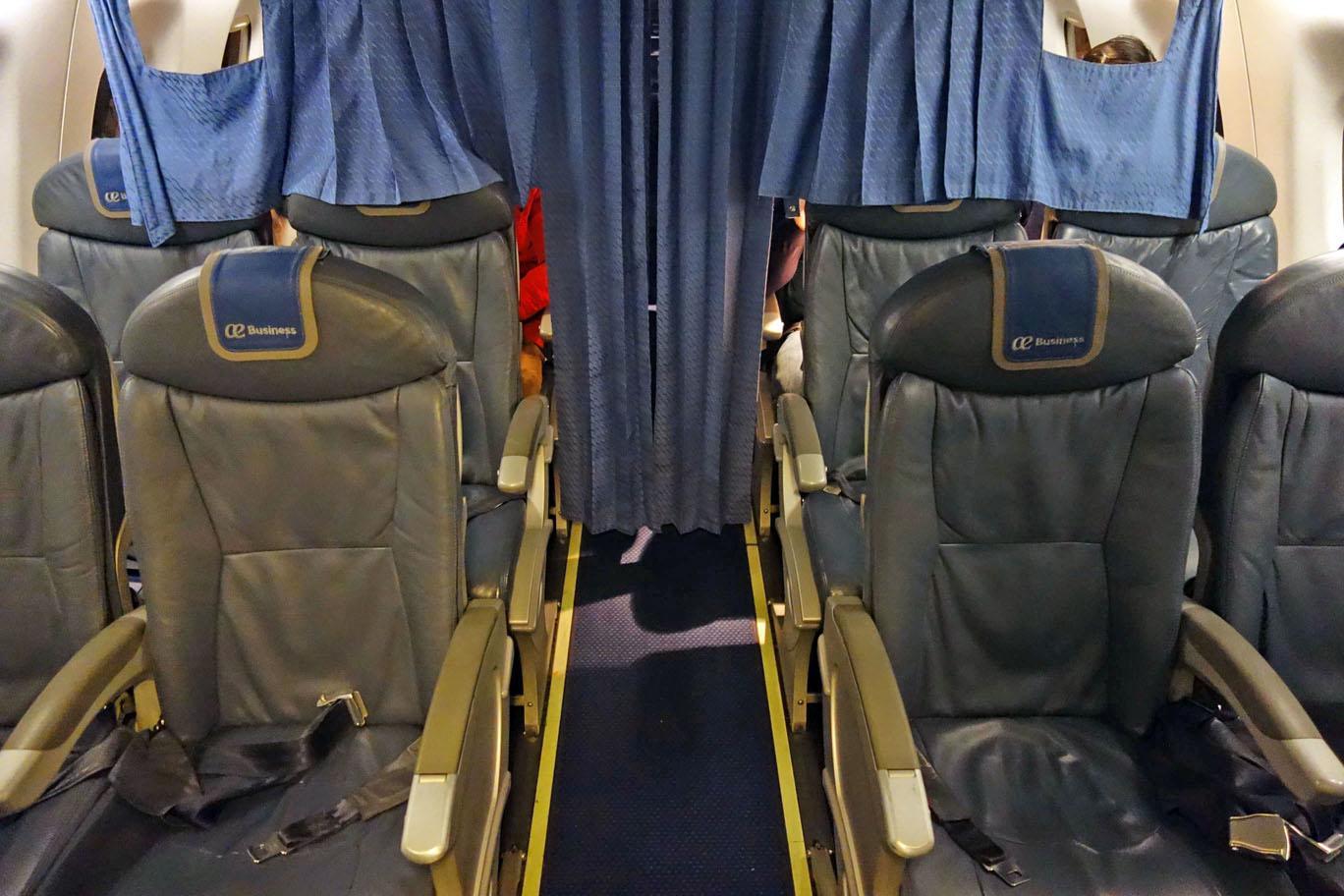 Обзор: Air Europa, бизнес-класс (E195), Виго – Мадрид