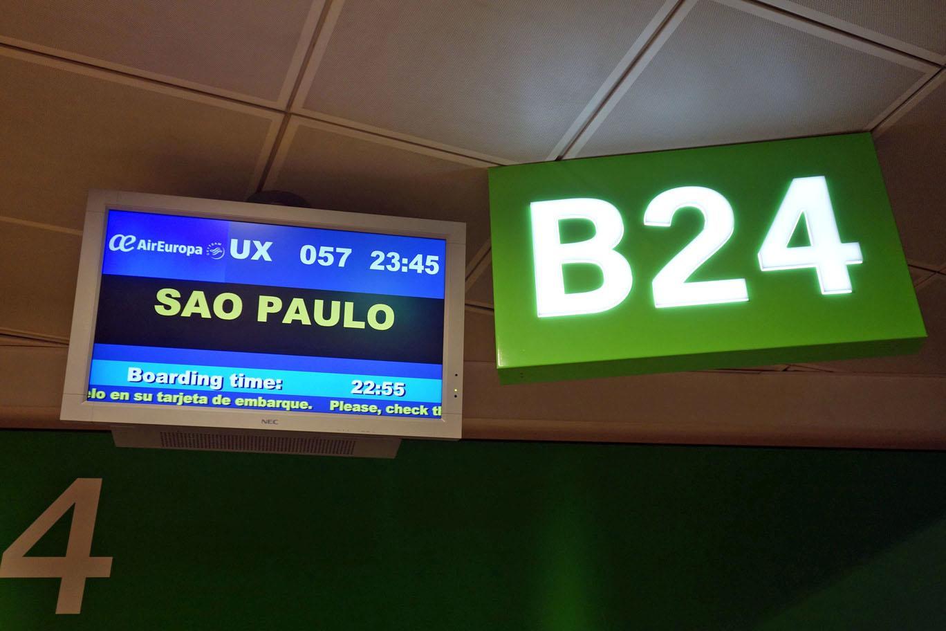 Обзор: Air Europa, бизнес-класс (787-9), Мадрид – Сан-Паулу