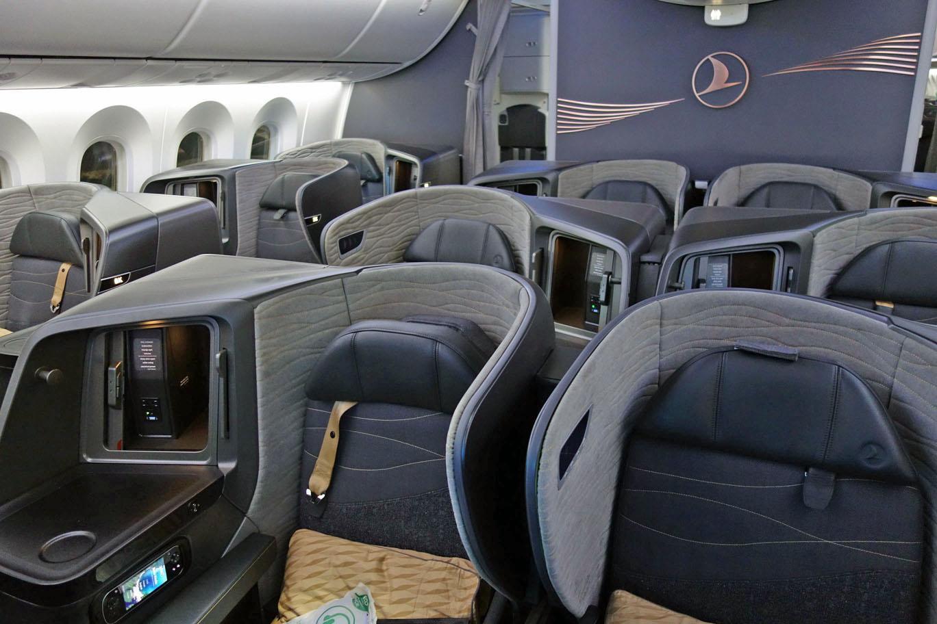 Обзор: Turkish Airlines, бизнес-класс (787), Мехико – Стамбул
