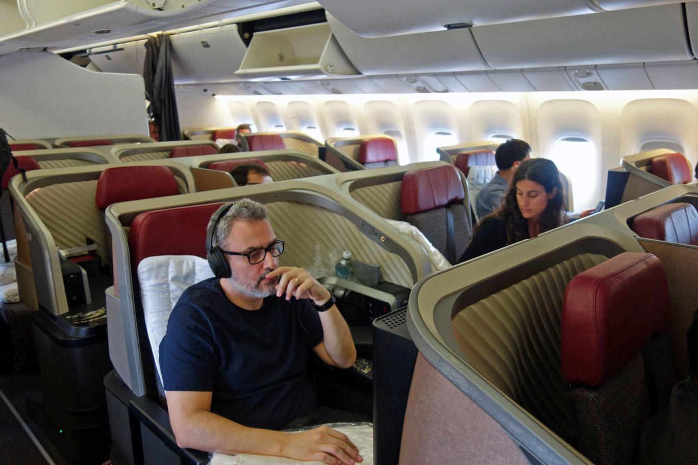 Обзор: LATAM, НОВЫЙ бизнес-класс (767), Лима — Мехико