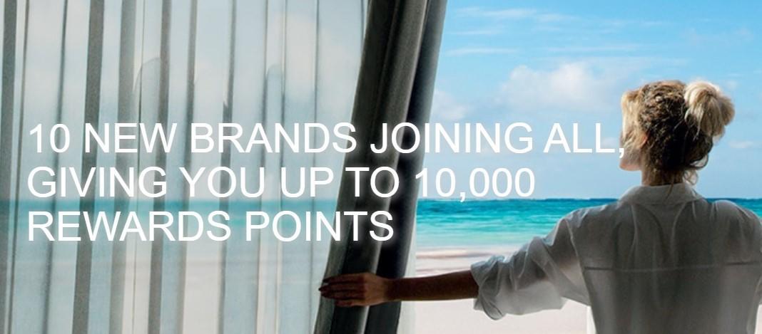 10 000 бонусных баллов Accor в отелях новых брендов