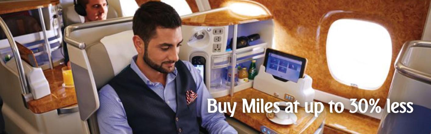 Распродажа миль Emirates Skywards