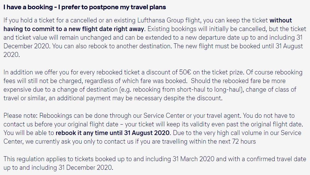 LH Group не хочет возвращать деньги за отмененные рейсы (но, конечно, вернёт)
